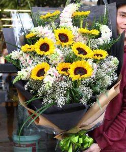 hoa bó 27
