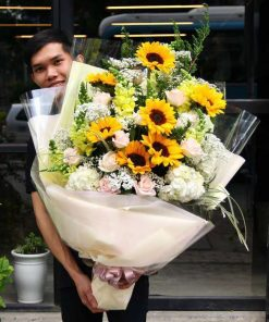 hoa bó 54