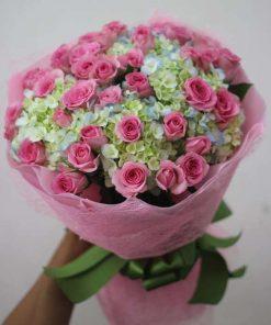 hoa bó 55