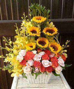 hoa giỏ 04