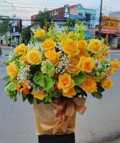 hoa giỏ 24