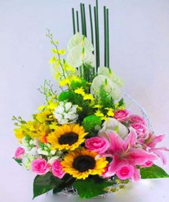 hoa giỏ 25