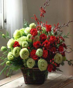 hoa giỏ 30