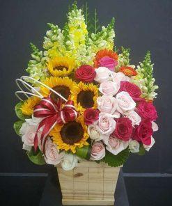 hoa giỏ 34