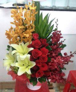 hoa giỏ 42