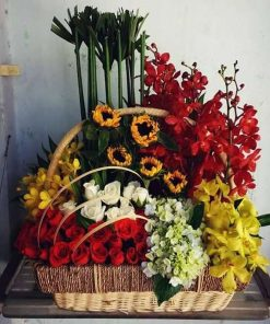 hoa giỏ 45