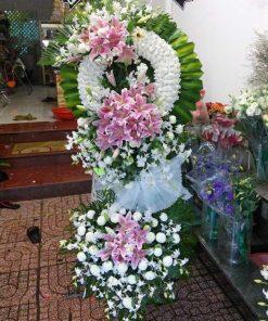 hoa tang lễ 60