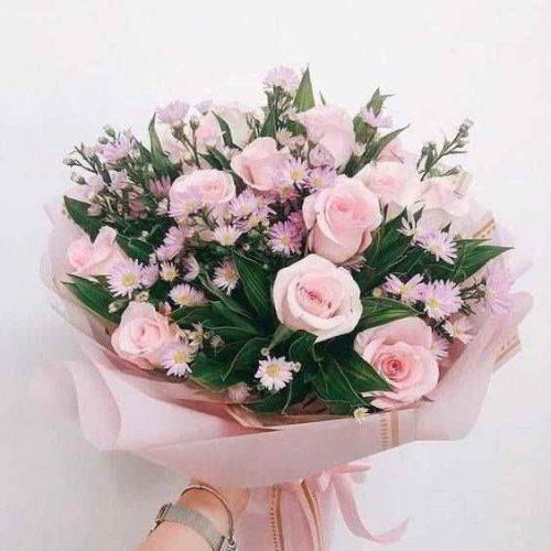 mẫu hoa bó đẹp tại shop