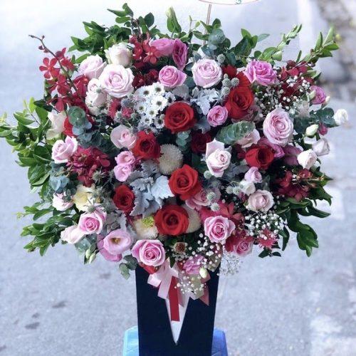 mẫu hoa dành tặng sinh nhật đẹp nhất ở shop hoa tươi biên hòa