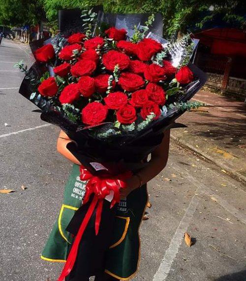bó hoa hồng đỏ đẹp nhất