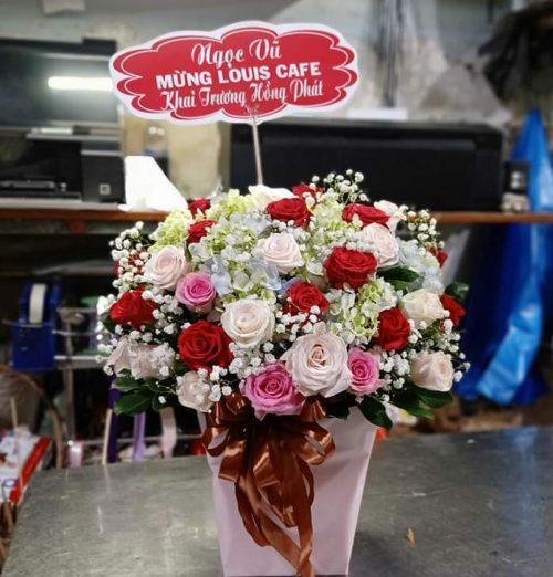 giỏ hoa tặng sinh nhật ý nghĩa