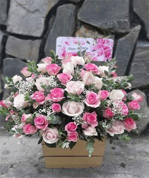 giỏ hoa tươi 74