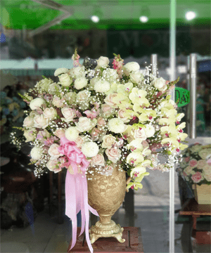 giỏ hoa tươi 75
