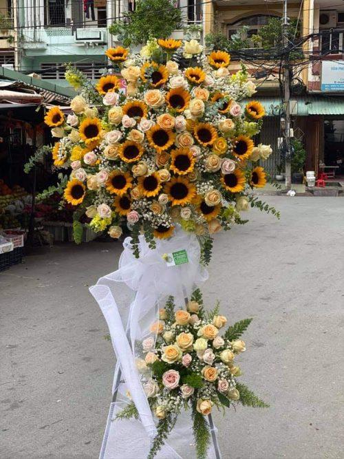 Giao hoa khai trương tận nơi tại Thái Bình
