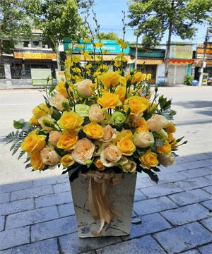 hoa giỏ hg 91